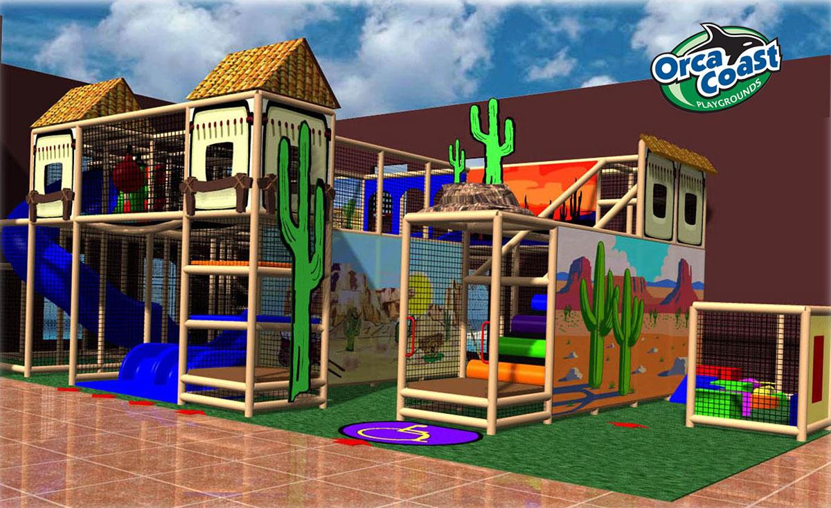 Indoor Themed Playground Design by Orca Coast Playground ...