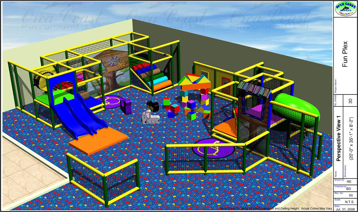 The Funplex East Hanover Nj Orca Coast Playgrounds